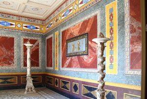 Triclinium d'été - Pompejanum - Aschaffenburg