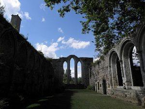 Réfectoire de l'abbaye de Beauport en Paimpol (22) (a) GO69